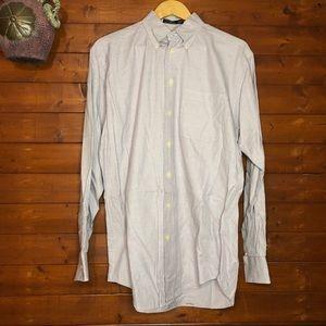Nautica Long Sleeve Button Shirt